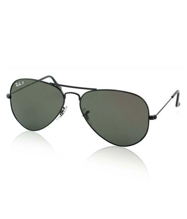 13b8d1cbaa Ray-Ban RB3025 002 58 Medium Size 58 Aviator Polarized Sunglasses